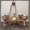 Old Brass Chandelier