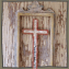 Rustic Mirrored Crosses
