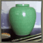 Asian Crackle Glaze Vase