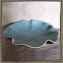 Contemporary Aqua Serving Dish