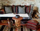 Ethnic and Southwest Flavored Decorative Pillows From Carol Tate.  Handwoven Textiles, Ikat Fabrics, Tribal Weaves…Reclaimed, Pieced, Recycled, and Eco Friendly Green Home Fashion.